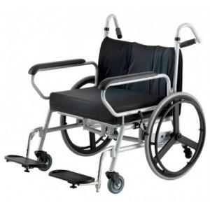Silla de ruedas plegable minimax, obesidad.