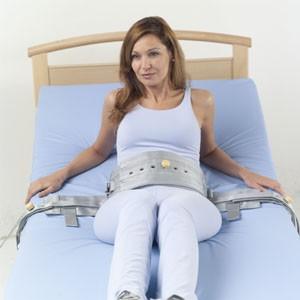 Cinturón magnético sujección cama