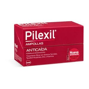 Pilexil ampollas, 15 ampollas 5 ml.