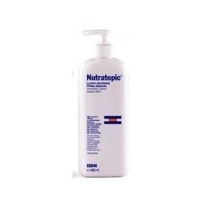 Nutratopic loción emoliente piel atópica, 400 ml.